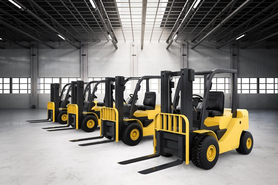 fleet in warehouse