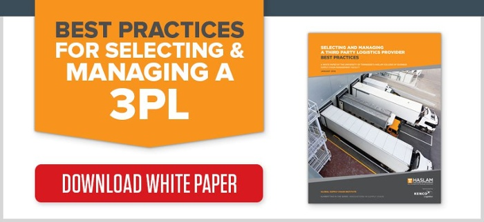 Best Practices Selecting a 3PL